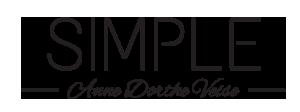 Sølvsmykker i enkelt design - Simple, Anne Dorthe Veise