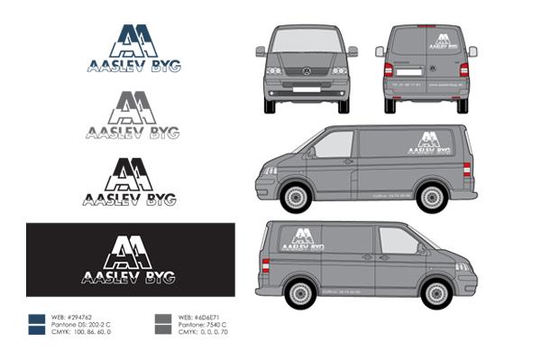 Logo design og bil reklame