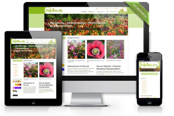 Webdesign til Florum.dk