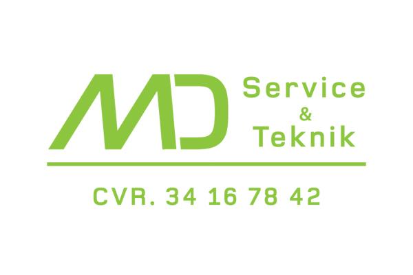 MD Teknik & Service Logo