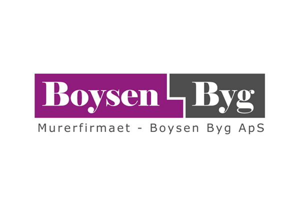 Murerfirmaet Boysen Byg logo