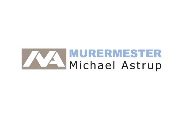 Logo Murermester Michael Astrup