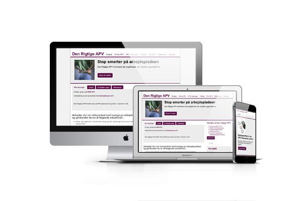 Responsive webdesign til Den rigtige APV