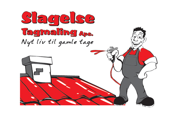 Slagelse tagmaling logo