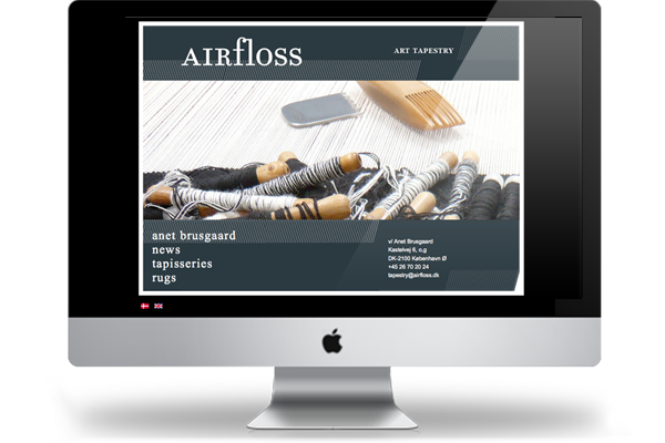 Airfloss webdesign