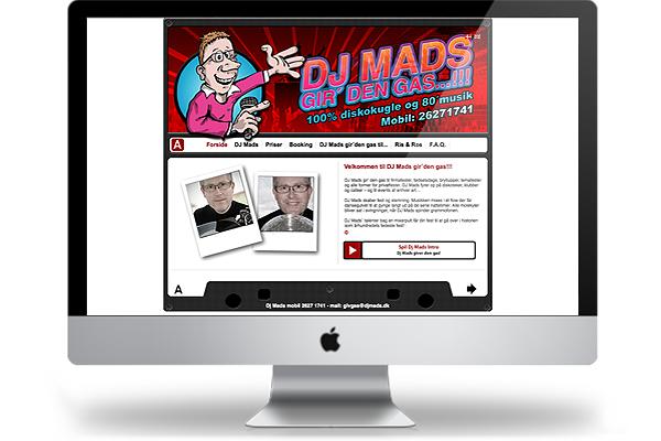 djmads webdesign