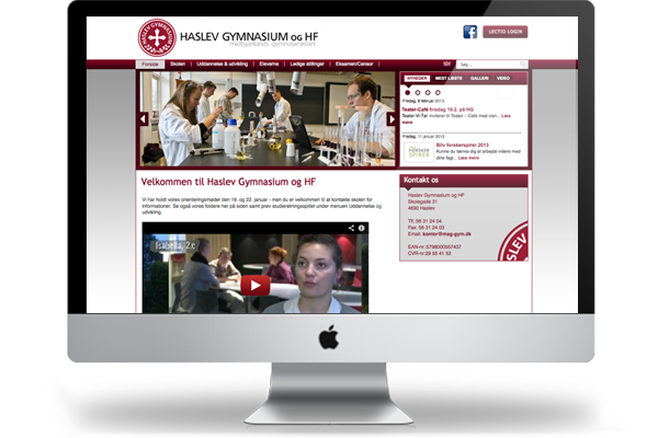 haslev-gymnasium-webdesign