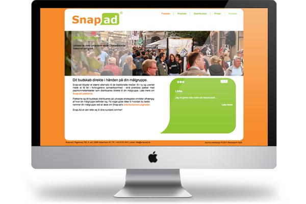 Snap-ad webdesign