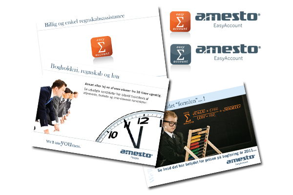 Tryksager til Amesto Accounthouse
