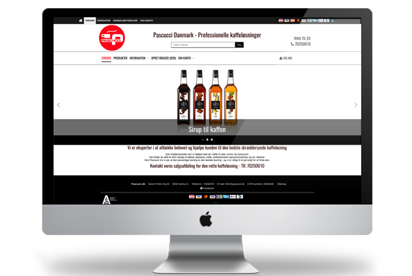 Pascucci hostedshop webshop