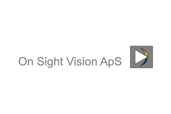 Rentegning af logo til On Sight Vision ApS