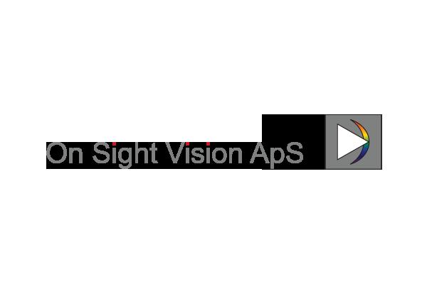 Rentegning af logo til On Sight Vision ApS