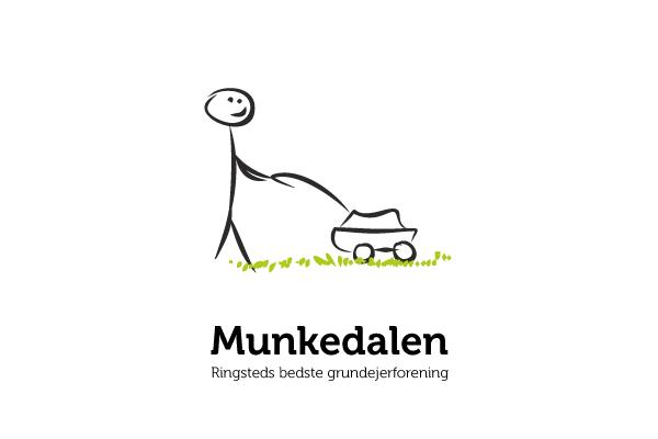 Logo til Grundejerforeningen Munkedalen i Ringsted
