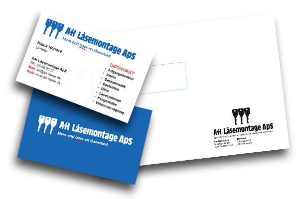 brevlinje til AH Låsemontage