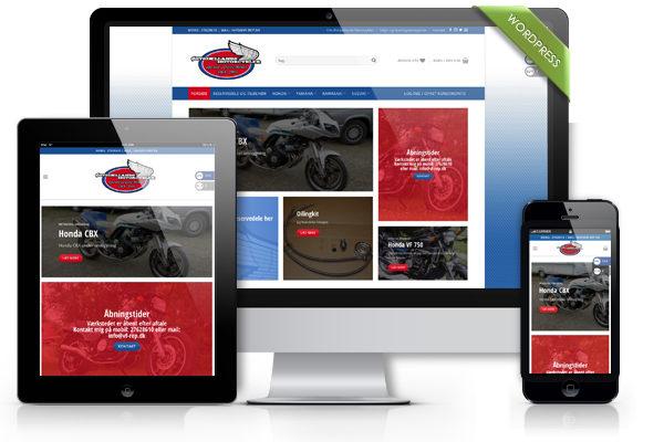 Woocommerce webshop til Vf-rep.dk